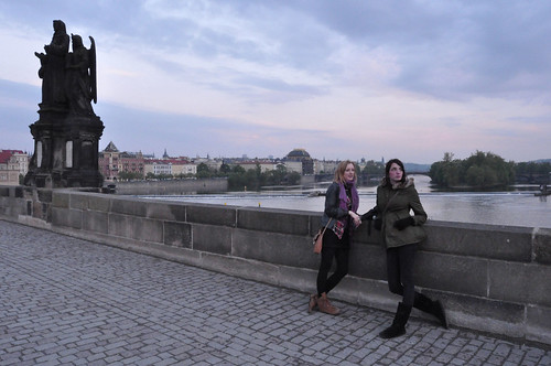 Grotesques on the Charles Bridge