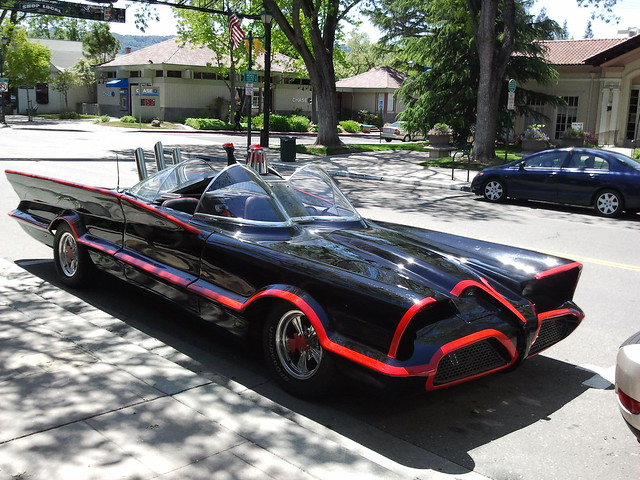 Batmobile in Pleasanton