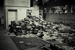 Archives #3 (felice_) Tags: blackandwhite bw canon room fear bn horror terror dslr biancoenero manicomio mentalhospital stanza paura terrore canon1855mm 550d