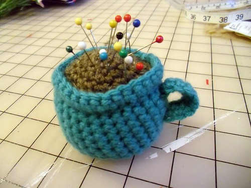 cappucino pincushion