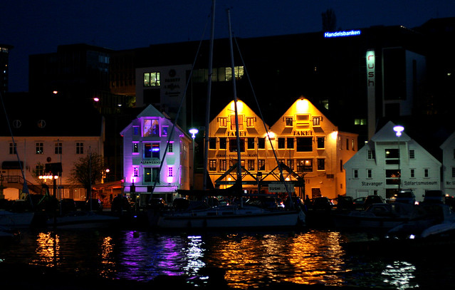 Stavanger by night