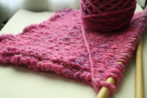 BFL scarf, beginning