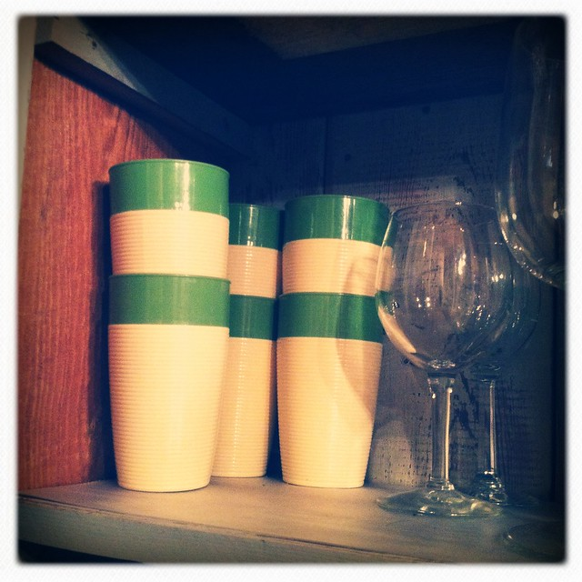 Awesome vintage cups!