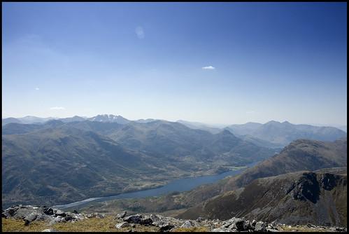 Loch Leven from Am Bodach