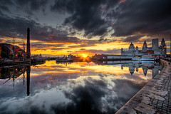 The old view over Canning Dock (petecarr) Tags: liverpool cityscape hdr albertdockshdrliverpool