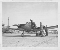 "04-01863 Ryan L-17 Navion c. 1947 (San Diego Air & Space Museum Archives) Tags: sdasm aviation aeronautics sandiegoairandspacemuseum ryan ""ryan aeronautical"" ""san diego"" ""lindbergh field"" navion ryanl17 ryannavion ryanl17navion l17navion l17"