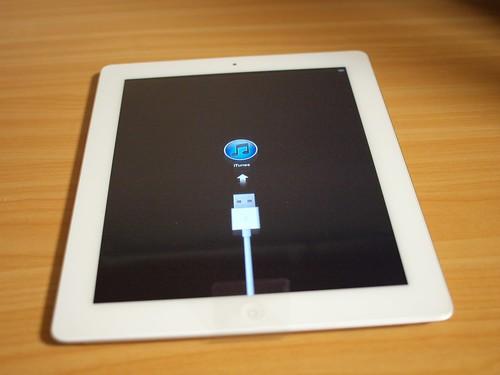 iPad2セットアップ前