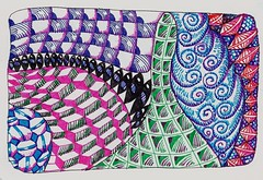art journal zia tangle paperblanks zentangle zendoodle zentangleinspiredart