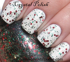 China Glaze Party Hearty (CrystalPolish) Tags: partyhearty chinaglaze topcoatglitter tistheseasontobenaughtyandnice