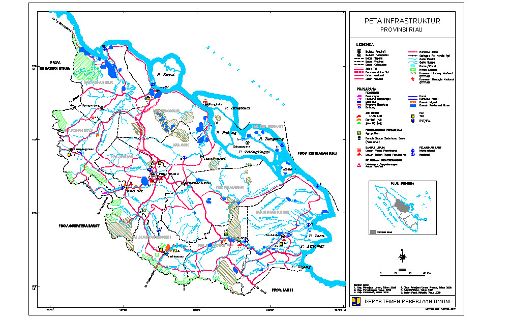 RIAU Projects and development (excluding Pekanbaru and ...
