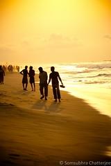 Morning walk (Somsubhra Chatterjee) Tags: morning travel sea beach canon puri 1000d