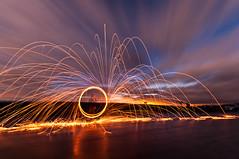 The Spin (Vaidas M) Tags: longexposure selfportrait lightpainting northyorkmoors northyorkshire steelwool sigma1020mmf456exdchsm nikond90 dwcfflightpaint