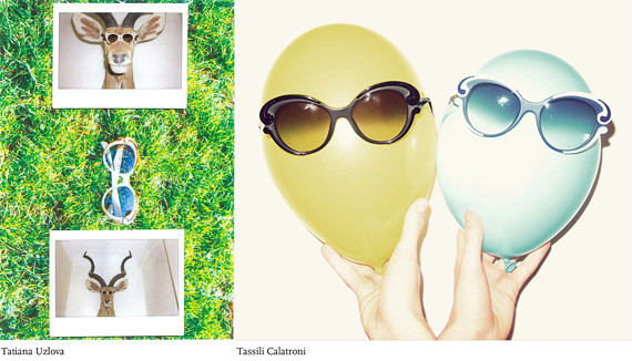 Prada Minimal Baroque Spring fashion sunglasses