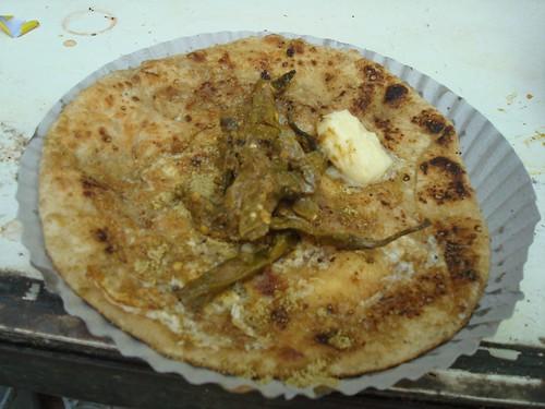 Egg Parantha at Moolchand, Delhi