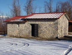 Agliale osservatorio nella veste invernale