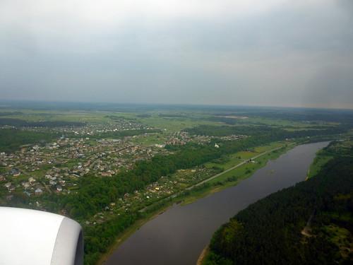 Sobrevolando Kaunas