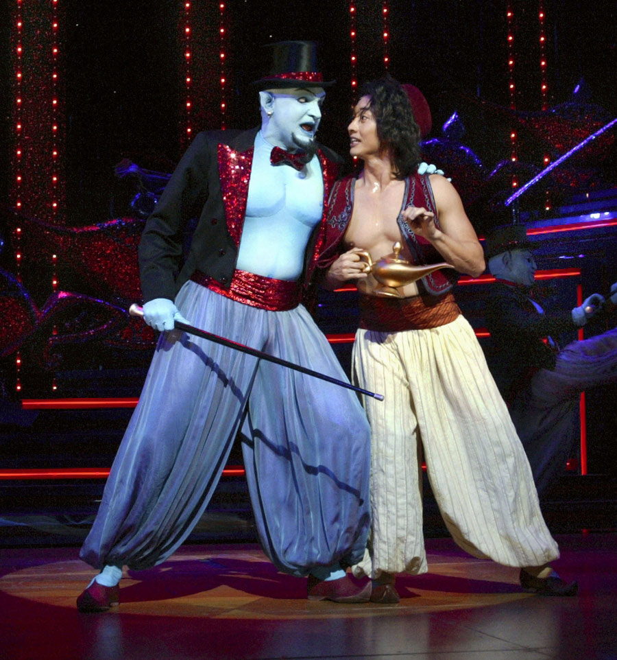 'Disney's Aladdin – A Musical Spectacular' on the Disney Fantasy