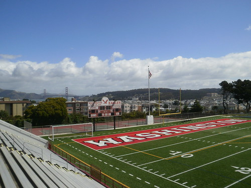 George washington high school football field