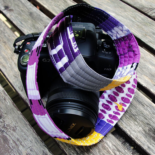 Tufted Tweets Camera Strap