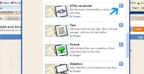html java script