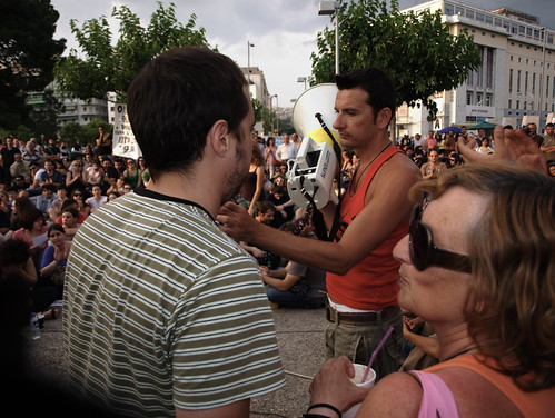 Greek Revolution: Day Six - Popular assembly, Thessaloniki