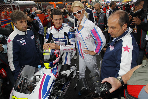 Paris Hilton Team GP Cataluña