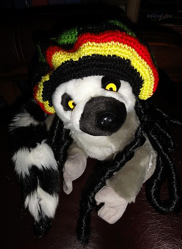 Emma the Rasta Lemur