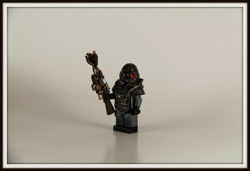 Custom minifig Weird War II - German ÜberSoldier