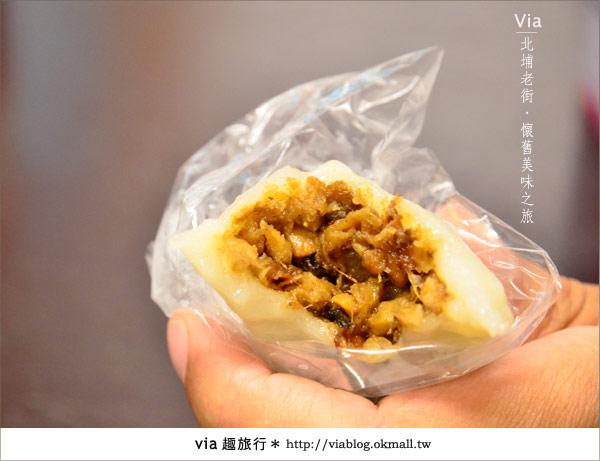 【新竹一日遊】北埔老街~在古廟舊巷內尋找專屬客家的美食8