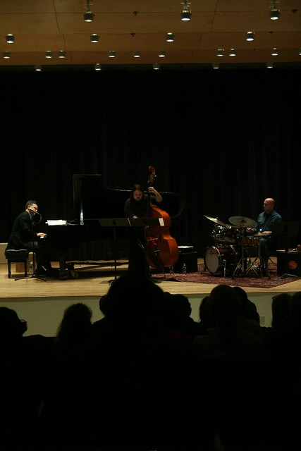 Peter Eldridge trio by Adam Keller