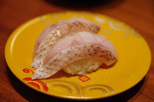 のど黒の寿司