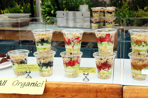 Alive! raw food stand
