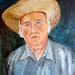 Self-portrait.  Boris Savluc, Romanian Artist / Painter (1938 - 2011)