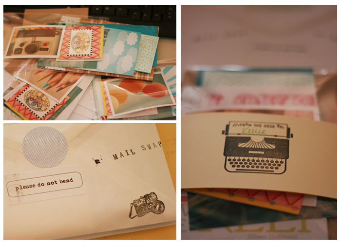 cc snail mail swap ~ what I sent