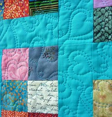 Baby Love quilting
