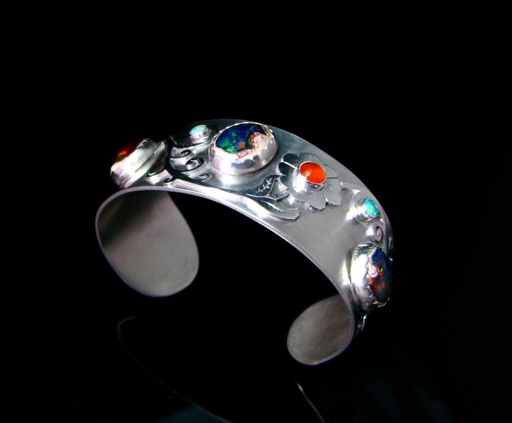 Mexican Opal Cuff