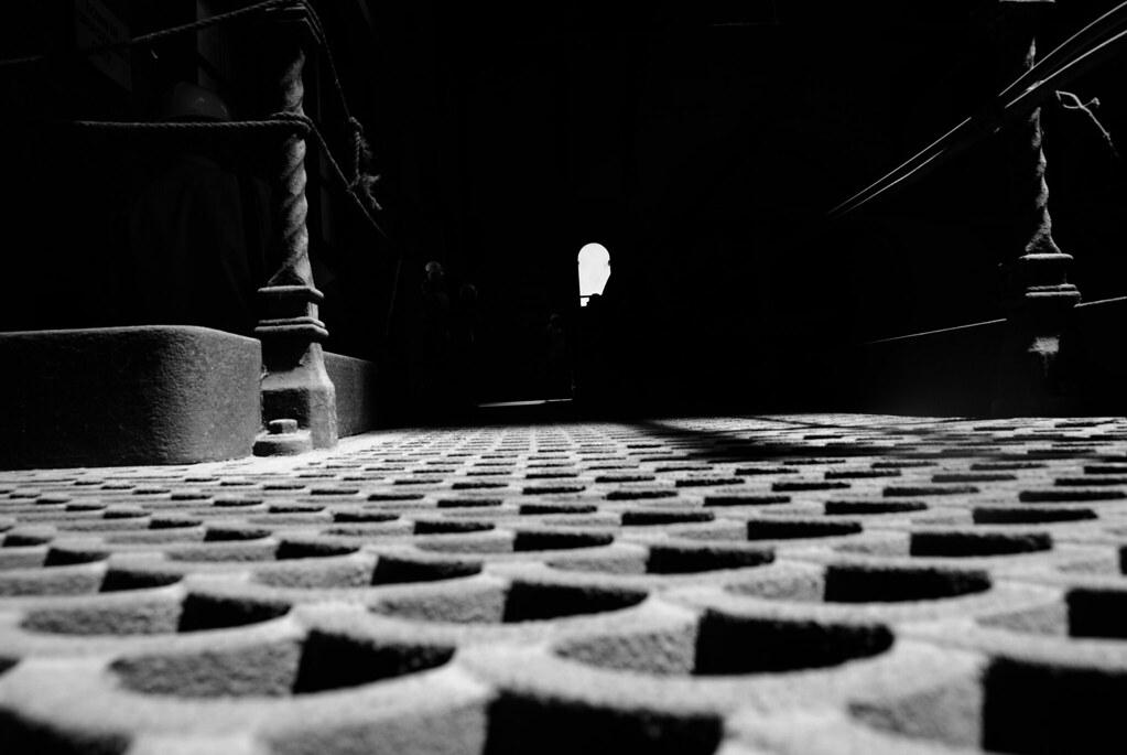 Iron floor