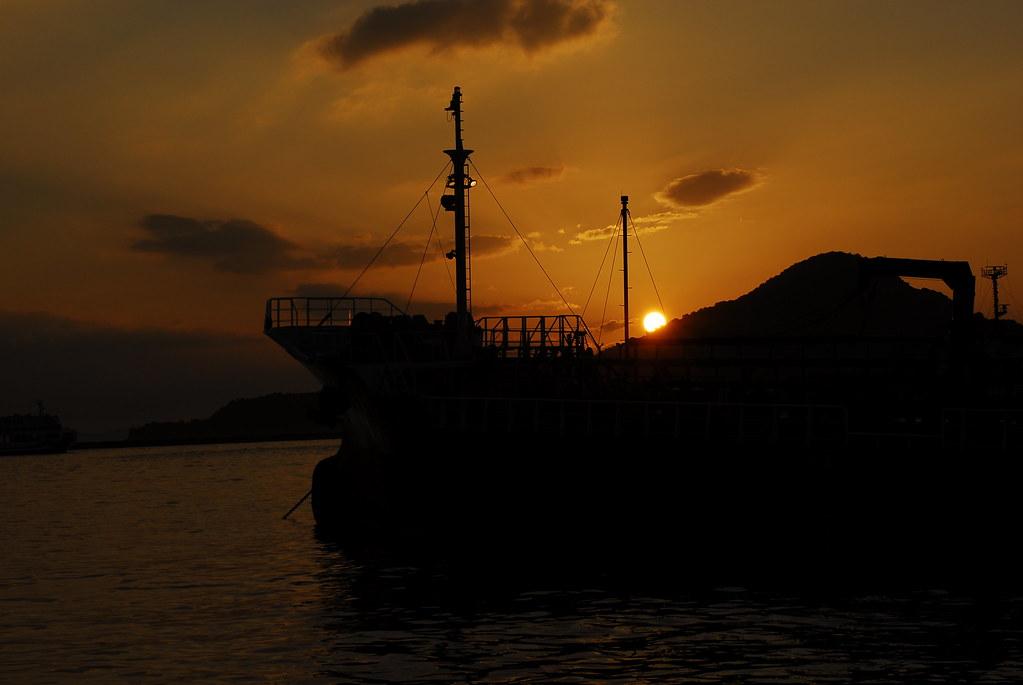179/365 | Sunset @ Mitsuhama Port