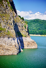IMG_7878 (npx) Tags: lake mountains forest landscape dam roadtrip romania fagaras vidraru transfagarasan