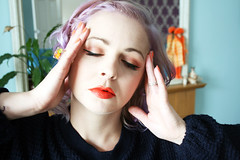 lavenders and peach 2 (Emma - Dear Thirty) Tags: hair pastel lavenderhair