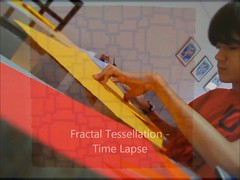 Fractal Tessellation - Time Lapse (Arturo-) Tags: paper video origami time andrea mosaico fractal papel tessellation arturo lapse russo fonseca dobradura