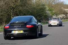 The Chase (MJParker1804) Tags: 911 convertible s turbo porsche chase coupe carrera cabriolet 997 c2s