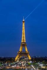 Eiffel by night (Kostas Trovas) Tags: paris france canon europe nightshot eiffel highiso 6d ef24105mmf4lisusm