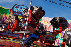 DSC02234 (A Parton Photography) Tags: fairground rides spinning longexposure miltonkeynes fireworks bonfire november cold