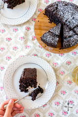 Double Chocolate Banana Cake / Bread (Foodie Baker) Tags: chocolate cocoa banana bananas fruit fruits cake cakes foodie bake baking recipe recipes
