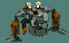 Revotain [Defence] 2 (Folisk) Tags: bionicle gung0rt lego moc ldd digital designer pov hero factory technic mecha turret machine