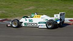 Williams FW08C (Boushh_TFA) Tags: williams fw08c 16 fia masters historic formula one championship 2015 grand prix zandvoort circuit park cpz netherlands nederland nikon d600 nikkor 300mm f28 vrii