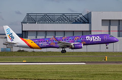 Flybe - Embraer 195LR G-FBEJ @ Cardiff Rhoose (Shaun Grist) Tags: flybe embraer 195lr gfbej shaungrist cwl egff cardiff cardiffrhoose cardiffairport rhoose airport aircraft aviation aeroplanes airline avgeek welcometoyorkshire