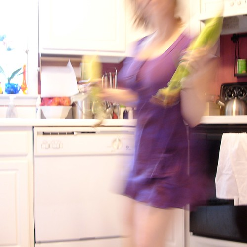 Purple Safari Dress: Corn Maraca Time!