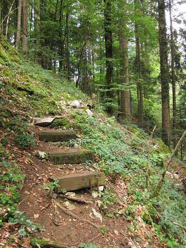 dem Doubs entlang